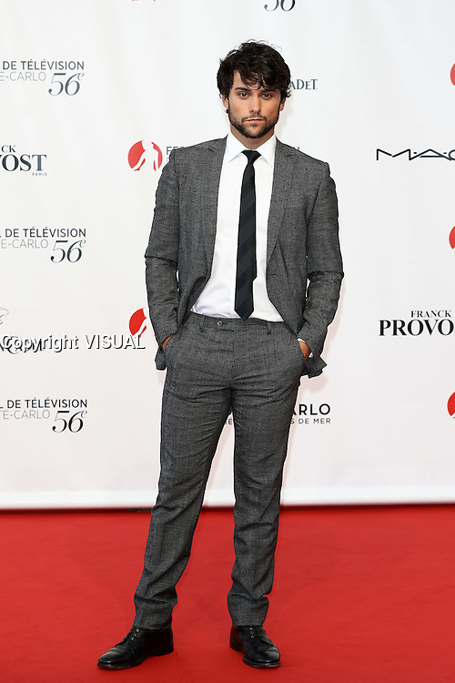 56th Monte-Carlo Television Festival opening red carpet. jack falahee.