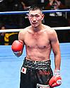 Boxing : Super lightweight bout : Izuki Tomioka vs Hiroki Okada