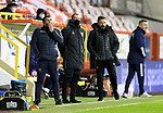 Aberdeen v St Johnstone…26.12.20   Pittodrie      SPFL<br />Saints boss Callum Davidson<br />Picture by Graeme Hart.<br />Copyright Perthshire Picture Agency<br />Tel: 01738 623350  Mobile: 07990 594431