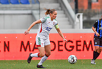 OHL's Lenie Onzia pictured during a female soccer game between Club Brugge Dames YLA and Oud Heverlee Leuven on the 8 th matchday of the 2020 - 2021 season of Belgian Scooore Womens Super League , saturday 21 th November 2020  in Knokke , Belgium . PHOTO SPORTPIX.BE | SPP | DAVID CATRY