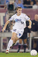 Cindy Parlow of the Beat. Parlow assisted on Hooper's goal in the 51 minute. The Atlanta Beat and the NY Power played to a 1-1 tie on 7/26/03 at Mitchel Athletic Complex, Uniondale, NY..