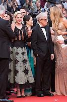 Kristen Stewart, Woody Allen, Blake Lively - 69EME FESTIVAL DE CANNES 2016 - OUVERTURE DU FESTIVAL AVEC 'CAFE SOCIETY'