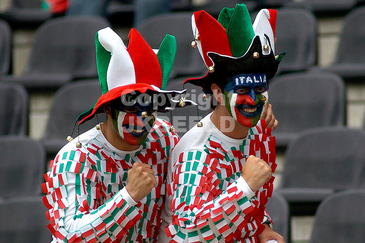 Fans Bulgarije Europees kampioenschap 2004 Portugal seizoen 2003-2004 22-06-2004