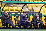 16.08.2020 Livingston v Rangers: Steven Gerrard on thr Rangers bench asking the officials for a decision