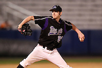 Minnesota State Mavericks Ronnie Donley #21 during a game vs. the Illinois State Redbirds at Chain of Lakes Park in Winter Haven, Florida;  March 4, 2011.  Illinois State defeated Minnesota State 3-2.  Photo By Mike Janes/Four Seam Images