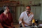 La llum d'Elna.<br /> Visita al rodaje.<br /> Montse Ganges & Nicolas Garcia.