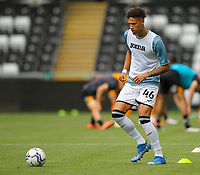 11th September 2021; Swansea.com Stadium, Swansea, Wales; EFL Championship football, Swansea versus Hull City; Rhys Williams of Swansea City during the warm up