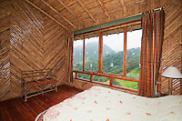 Guest room at San Jorge Eco-Lodge, Tandayapa Valley, Ecuador