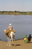 - northern Sudan, the Nile river....- Sudan settentrionale, il fiume Nilo