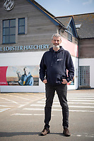 BNPS.co.uk (01202) 558833. <br /> Pic: Zachary Culpin/BNPS<br /> <br /> Chief Operating Officer, David Lockyer at the hatchery in Padstow<br /> <br /> Hatch of the day...<br /> <br /> A British lobster hatchery is celebrating sending over 275,000 hatchlings back into the wild having given them a better chance of survival.<br /> <br /> The National Lobster Hatchery has spent the last 21 years nursing baby lobsters through their vulnerable life stages before releasing back into the wild.<br /> <br /> The pandemic has hit release numbers, with the hatchery running on skeleton staff due to Covid restrictions, but they have still managed to release thousands in the last year.