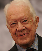 NEW YORK, NY - JANUARY 12: Former President Jimmy Carter attends 'Countdown To Zero: Defeating Disease' preview press conference at American Museum of Natural History on January 12, 2015 in New York City.<br /> <br /> <br /> People:  Former President Jimmy Carter