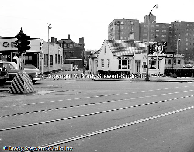 Pittsburgh PA:  View Marbetts Restaurant in the East Liberty section of Pittsburgh.
