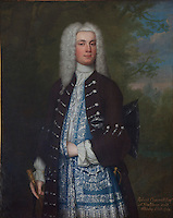 An18th century portrait of Robert Cracroft Esquire of Hackthorn and Whisby