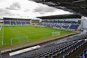 General View of Falkirk Stadium taken from the North Stand looking toward the South and Main Stand ....
