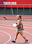 Charlotte Bolton, Tokyo 2020 - Para Athletics // Para-athlétisme.<br /> Charlotte Bolton competes in the Women's Discus Throw - F41 Final // Charlotte Bolton participe au lancer du disque féminin - Finale F41. 09/01/2021.