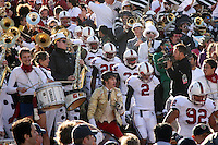 2 December 2006: Jason Evans, Anthony Kimble, Emeka Nnoli, Nick Sanchez and Sione Fua during Stanford's 26-17 loss to Cal in the 109th Big Game at Memorial Stadium in Berkeley, CA.