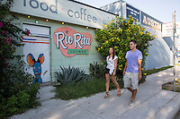 Perfect summer's day for a stroll in the Eastside of East Austin's vibrant East 6th Street.