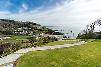 BNPS.co.uk (01202) 558833. <br /> Pic: ScottParry/BNPS<br /> <br /> Pictured: The house is 150 yards from Millendreath Beach and its garden gate will take the owners straight onto the South West Coast Path.<br /> <br /> Life's a beach...<br /> <br /> A coastal clifftop home above a picturesque Cornish beach is on the market for £1.75m.<br /> <br /> High Seas sits in a prime position above Millendreath Beach in Looe, the 'Cornish Riviera', with spectacular views across Whitsand Bay and out to sea.<br /> <br /> The impressive five-bedroom property has almost 5,000 sq ft of living space and a decent sized garden, but it's real draw is its location.<br /> <br /> The house is 150 yards from Millendreath Beach and its garden gate will take the owners straight onto the South West Coast Path.
