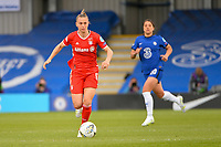 2nd May 2021; Kingsmeadow, London, England;  Klara Buhl FCBwith the ball at feet during the UEFA Womens Champions League, Chelsea FC versus FC Bayern Munich