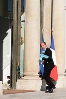 Jean-Jacques Urvoas - - Conseil restreint de sÈcurite et de defense ‡ l'Elysee suite a l'attentat de Nice perpetre le 14 juillet.