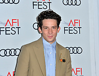 """LOS ANGELES, USA. November 17, 2019: Josh O'Connor at the gala screening for """"The Crown"""" as part of the AFI Fest 2019 at the TCL Chinese Theatre.<br /> Picture: Paul Smith/Featureflash"""
