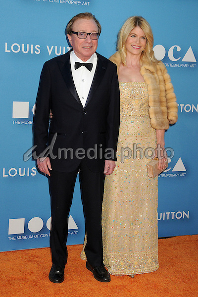 30 May 2015 - Los Angeles, California - Fred Sands, Carla Sands. MOCA Gala 2015 held at The Geffen Contemporary at MOCA. Photo Credit: Byron Purvis/AdMedia