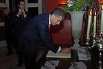 ALFONSO PECORARO SCANIO<br /> PARTY  PER LA PRESIDENZA DEL CONSIGLIO D'EUROPA<br /> RESIDENZA DELL'AMBASCIATORE TEDESCO - VILLA ALMONE     ROMA 2007
