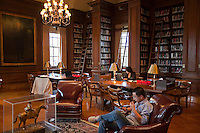 Various feature photos insde Kirby Hall of Civil Rights and inside Kirby Library   4573
