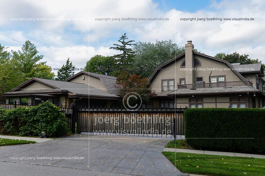 USA, Nebraska, Omaha, home of billionaire Warren Buffet, the founder of Berkshire Hathaway Inc., the holding enterprise of Warren Buffet