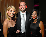 Whitney Shelton, John Blocker and Rachal Rojas (cq) at the Casino Night for The Health Museum at the Hotel ZaZa Saturday  Aug. 23,2008.(Dave Rossman/For the Chronicle)