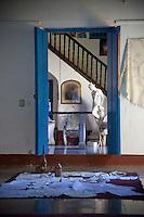 Cuba, Trinidad.  Interior of a colonial-era home.