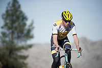 Sep Vanmarcke (BEL/LottoNL-Jumbo) training up Coll de Rates (Alicante, Spain)<br /> <br /> January 2016 Training Camps