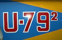 """Detail:  U-79/2 """"Nitrogen Too"""" (b.1960)"""