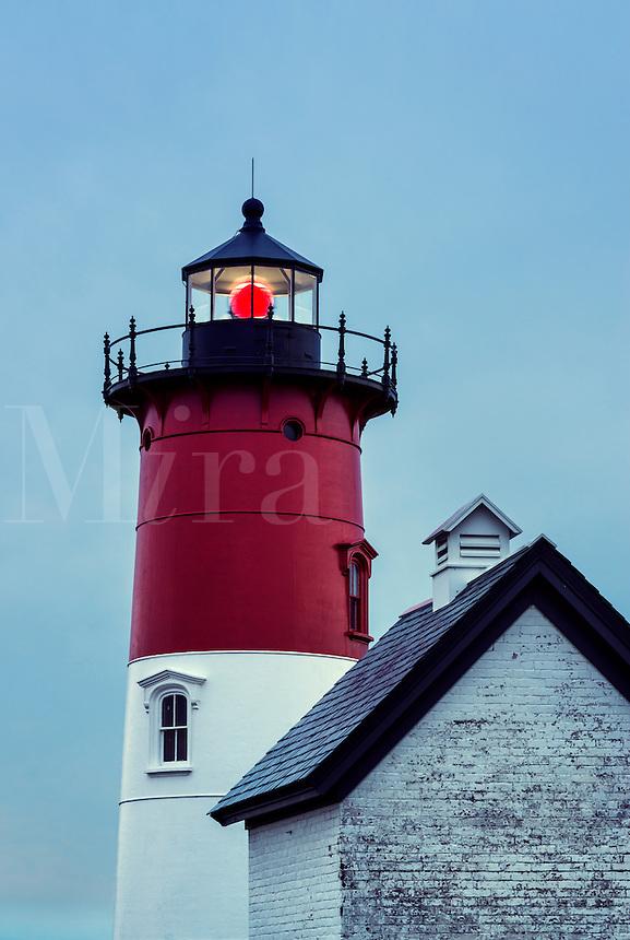 Nauset Lighthouse, Eastham, Cape Cod, Massachusetts, USA