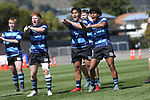 NELSON, NEW ZEALAND -SEPTEMBER 18: Miles Toyota Championship Final,Nelson College v Christ College Trafalgar Park,Saturday 18 September 2021,Nelson New Zealand. (Photo by  Shuttersport Limited)