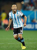 Javier Mascherano of Argentina