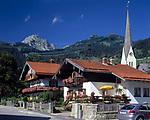 Deutschland, Bayern, Oberbayern, Wendelstein-Region: Kurort Bayrischzell und Wendelstein (1.838 m) | Germany, Bavaria, Upper Bavaria, resort Bayrischzell and Wendelstein mountain (1.838 m)