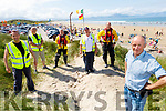 Members of the Banna Sea Rescue stand with Pat Lawlor on Sunday on Banna Beach as they celebrate been named in the top 25 beaches in Europe by Tripadvisor. <br /> Front right. Pat Lawlor.<br /> Back l to r: Stephen O'Connor, Neil Bodenham, Brian Crean, Guy Buxton and Tom Ward.