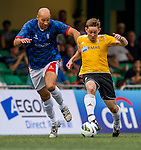 Nottingham Forest Mobsters plays SCC Tigers during the HKFC Citibank International Soccer Sevens at the Hong Kong Football Club on 25 May 2013 in Hong Kong, China. Photo by Victor Fraile / The Power of Sport Images