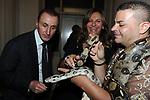 ANDREA MESCHINI ED ELENA BONELLI<br /> PARTY DI PAOLO PAZZAGLIA<br /> PALAZZO FERRAJOLI ROMA 2010