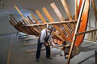 - Genoa, museum of the sea of Galata, reconstruction of a shipyard of the first years of century 900....- Genova, museo del mare di Galata ricostruzione di un cantiere navale dei primi anni del secolo 900