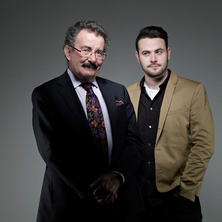 Lord Robert Winston and his son Ben.