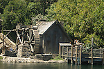WATER MILL ON DISNEYS TOM SAWYERS ISLAND