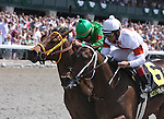 02 April 2010. Wetzel ridden by Shaun Bridgmohan breaks his maiden in his first start as a 2 year old in the first race of opening day at Keeneland.