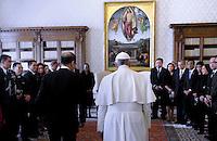 President of Philippines Benigno Simeon Aquino III audience with Pope Francis, Vatican City, Rome, Italy - 04 Dec 2015