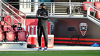 WASHINGTON, DC - NOVEMBER 8: Thierry Henry Head Coach of Montreal Impact during a game between Montreal Impact and D.C. United at Audi Field on November 8, 2020 in Washington, DC.