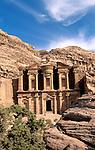 Jordan, Petra. Al Deir (the Monastery), a Nabatean Temple&#xA;<br />