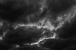 Stratocumulus clouds darkening skies with cloud patterns and shapes