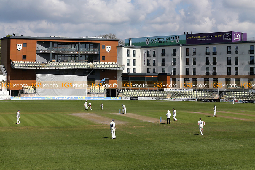 General view of play during Worcestershire CCC vs Essex CCC, LV Insurance County Championship Group 1 Cricket at New Road on 2nd May 2021