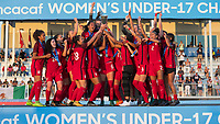 Bradenton, FL - Sunday, June 12, 2018: CONCACAF Awards, USA during a U-17 Women's Championship Finals match between USA and Mexico at IMG Academy.  USA defeated Mexico 3-2 to win the championship.